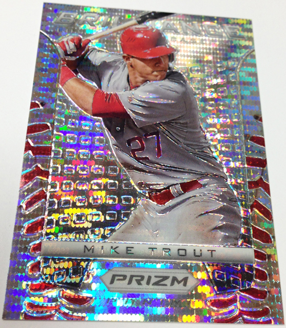 Father's Day Mike Trout Prizm
