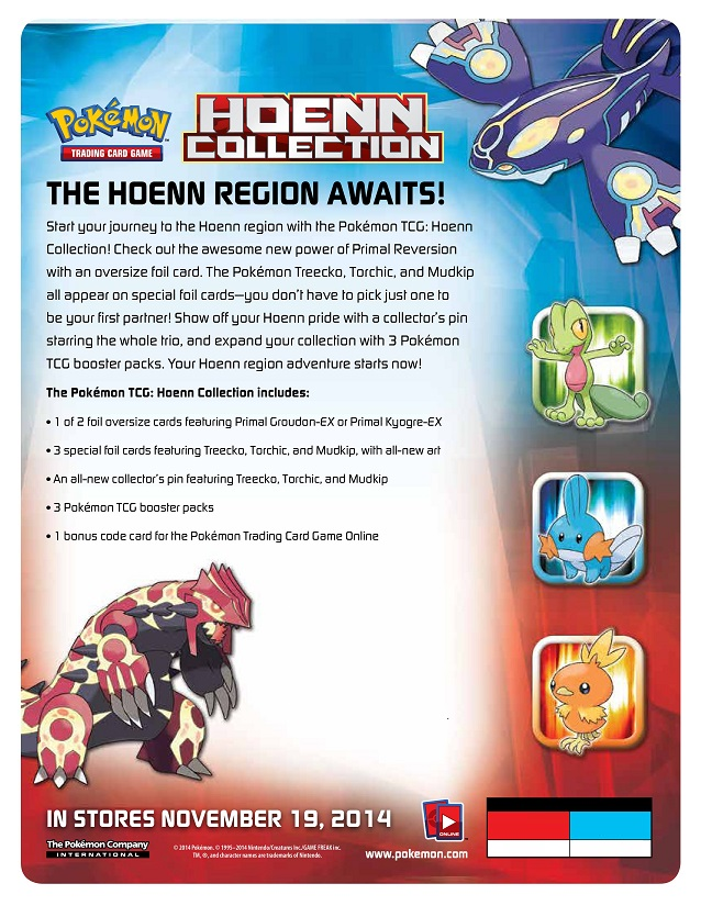 hoenn collection